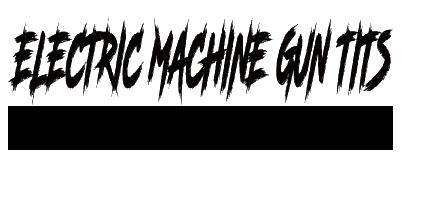 出演アーティスト情報【ELECTRIC MACHINE GUN TITS(野沢直子・Tora Fujimoto)】